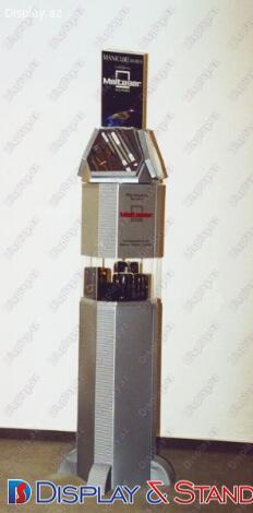 Avadanlıqlar üçün laminatdan hazırlanmış ticarət stendi N61