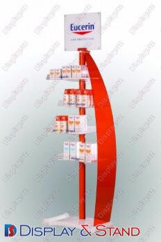 Торговая стойка N636 из метала для косметики в центр