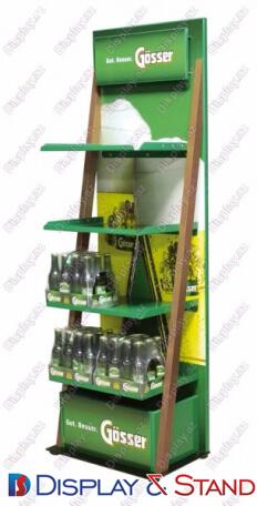 Пристенная мебель N662 из профильной трубы для напитков и техники в центр