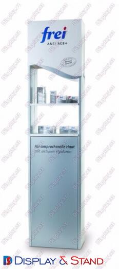 Торговая стойка для промоакции N680 из проволоки для парфюмерии напитков и оборудования в центр