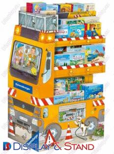 Пристенная мебель N714 из пластмассы для книг и канцелярских товаров в центр