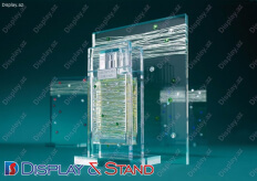 Стенд прикассовый для промо-акций N715 универсальные для парфюмерии в центр