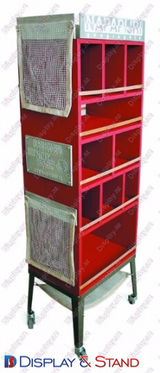 Пристенная мебель N817 из проволоки для парфюмерии и алкоголя пристенный и в центр