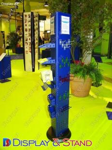 Пристенная мебель для BTL N833 из профильной трубы для продуктов питания в центр