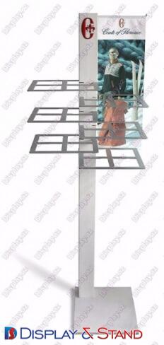 Пристенная мебель N844 из метала для витрина для газет и канцелярских товаров в центр