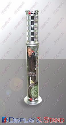 Promo məhsul və tanıtım üçün profil borusundan yerüstü stend N845