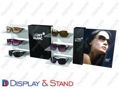 Стенд прикассовый для рекламы N891 из акрила для косметики, рекламы