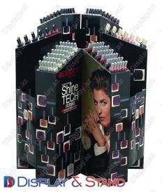 Mərkəzdə BTL,kosmetika və reklam üçün profil borusundan hazırlanmış divar vitrini N894