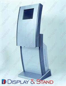 Reklam üçün profil borusundan divara quraşdırılmış vitrinlər N8
