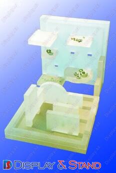 Стойка паразит для промоакции N94 из пластика для шелфтокеров и промо товаров